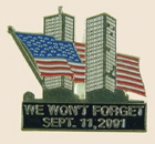 We Won`t Forget September 11th 2001