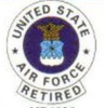 pin 4939 United States Air Force Retired