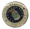 pin 1958 Round United States Air Force