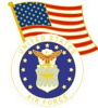 pin 4629 United States Air Force with American Flag