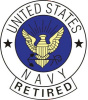 pin 4942 United States Navy Retired