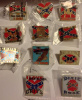 Rebel Lot of 11 Different Hat / Lapel Pins