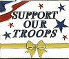 pin 4900 support our troops w/ yellow ribbon